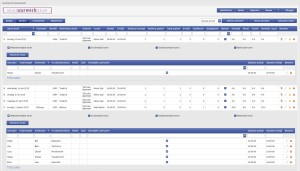 Uurwerk Online Dienstenscherm