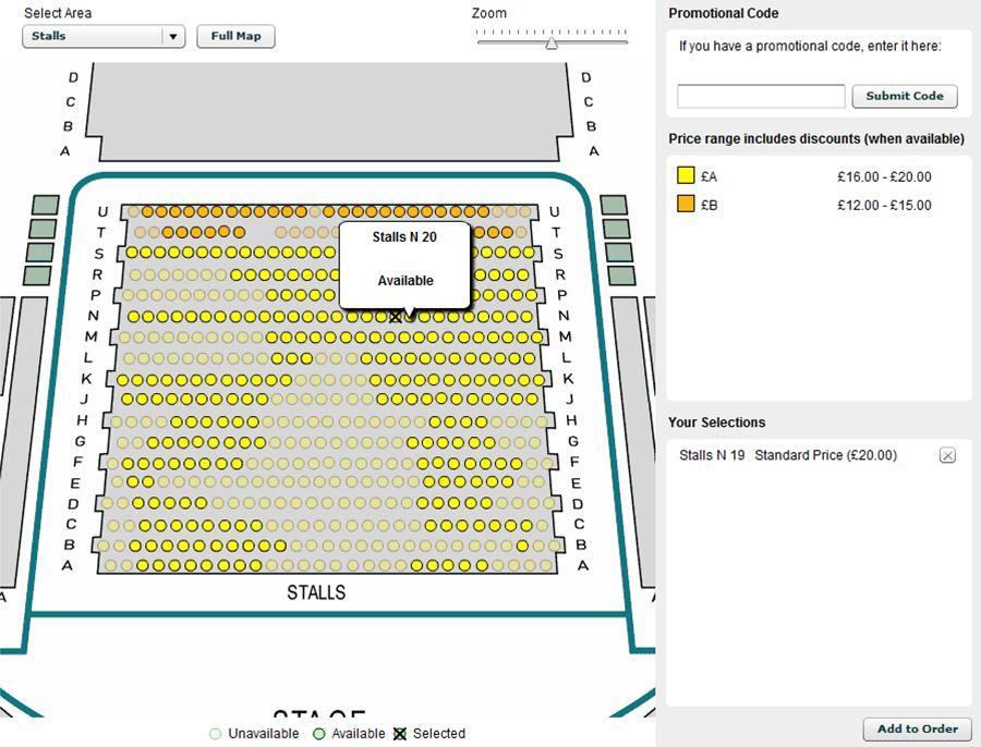Schermvoorbeeld Audience View