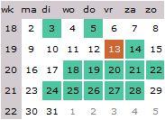 productiekalender